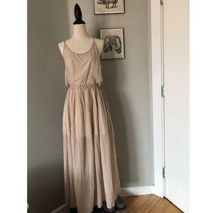 Gypsy Junkies Chiffon Maxi Dress